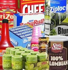 variety of wholesale products including tobacco liquor store beverages and mexican candy