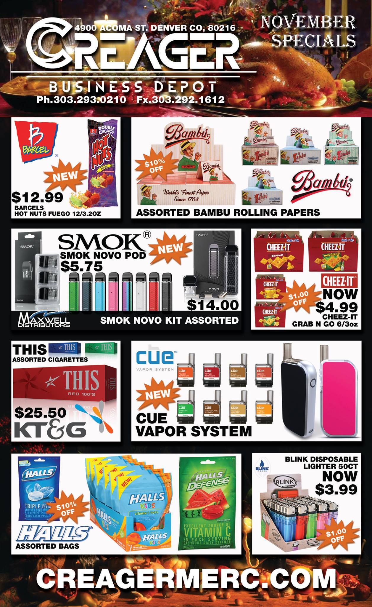 creager business depot | wholesale & retail suppliers in denver colorado